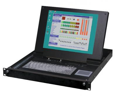 KVM-система IEI Technology LKM-9268GBC-RU